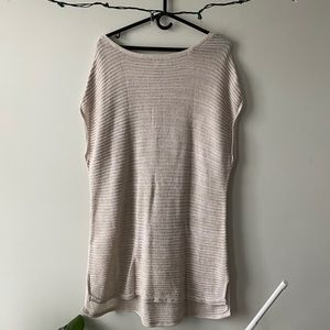 Old Navy Cream Knitted Dress